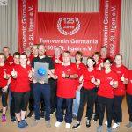 TV Germania erhält 20.000 € Spende – Gefeiert wurde in der Fitness-Night