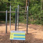 Neue Workout-Station am Sandhäuser Trimm-Dich-Pfad trainingsbereit