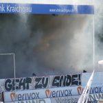Mehrere Verletzte nach Platzsturm im Spiel zwischen SV Sandhausen und Hannover 96