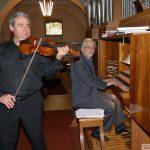Spitzen-Kirchenkonzert mit Violine und Orgel – Vladimir Rivkin und Alexander Levental
