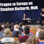 Gymnasiasten des FEG diskutierten Europa-Thematik mit MdB Dr. Harbarth