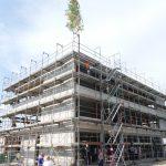 Richtfest für Verwaltungs-gebäude der Stadtwerke – Einzug im Dezember