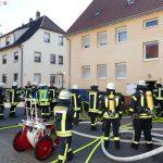 Brand in Leimener Mehrfamilienhaus – </br>Drei Feuerwehren im Großeinsatz