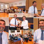 Verabschiedung von Nußlochs Hauptamtsleiter Krug in den Ruhestand