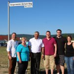 Baufeld Große Mühllach II übergeben – Bürgermeister-Bertsch-Ring eingeweiht