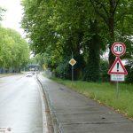 Sprungschanzen durch Hitze-Blowups: </br>Tempo 30 zwischen Leimen und St. Ilgen
