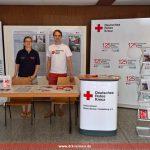 DRK Leimen und der Kreisverband bei der Berufe- und Ausbildungsmesse in Leimen