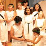 Die Götterolympiade – Eine wunderbare Aufführung der Klasse 4c der Turmschule
