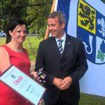 Partnerstadt Kunin spendet Textilmasken  - Schöne Geste der Solidarität