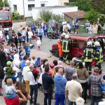 Sommerfest der Feuerwehr in Leimen-Mitte trotz nicht sommerlichem Wetter erfolgreich