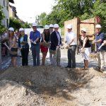 Der erste Spatenstich zur Sanierung der Ortsdurchfahrt Gauangelloch ist getan