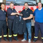 Nusslocher Feuerwehr spendet Uniformen für die Kameraden in Bugojno