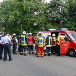Nußloch: Balkon im 2. OG bricht ab und reißt zwei weitere mit – Ein Schwerverletzter