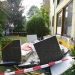 Gute Nachrichten vom Nußlocher Balkonsturz: Vater und Sohn nur leicht verletzt