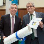Landrat verabschiedet Uli Sckerl nach fast 33 Jahren den Kreistag