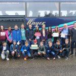St. Ilgener Schülerinnen und Schüler auf Besuch in der Partnerstadt Tigy