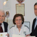 Seit 70 Jahren verheiratet: Gnadenhochzeit im Hause Kühny