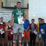 AC Germania auf Ba-Wü Meisterschaften: </br>Josef Hesse  bester Junioren-Athlet