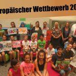 Friedrich-Ebert-Gymnasium: Preisträger beim Europäischen Wettbewerb 2017