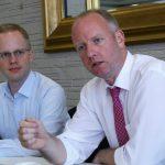 Erste Wahlkampf-Veranstaltung in Leimen: FDP diskutierte Bildung im Fody's Restaurant
