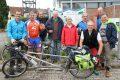 Wahlkampf im Grünen </br>Radtour am Leimbach entlang kam gut an