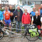 Wahlkampf im Grünen – Radtour am Leimbach entlang kam gut an