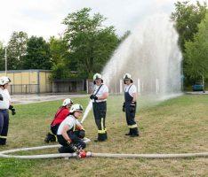 Schneller, höher, weiter: Mit dem Wasserwerfer auch für Großbrände gerüstet