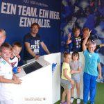 Ferienprogramm beim VfB: Der Hoffe-Express brachte Spaß für 60 Kinder