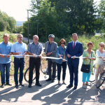 Verbindungsweg zwischen Leimen und Sandhausen eingeweiht
