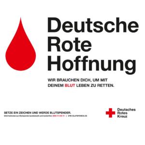 Blutspende - Deutsche Rote Hoffnung