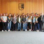 24 neue Azubis beim Landratsamt Rhein-Neckar-Kreis