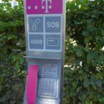 Rückbau der öffentlichen Telefonzelle am Lindenplatz in Nußloch