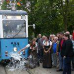 """Weinkerwe-Express – Die Wei-Bämbl wurde offiziell auf den Namen """"Leimen"""" getauft"""