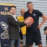 BB Bank unterstützt die Basketballer der TG Sandhausen