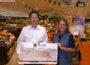 Kunden und EDEKA-Walter spendeten insg. 400 € für die Leimener Tafel