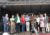 Der Kerweumzug – Eintreffen auf dem Rathausplatz – Weinfass-Anstich durch OB