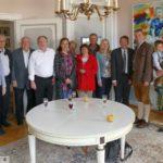 Weinkerwe Nachlese IV: </br>Empfang für die Partnerstädte