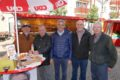 Fast alle Parteien im Wahlkampf-Endspurt auf dem Leimener Georgi-Marktplatz