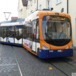 Straßenbahn am Kurpfalz-Centrum entgleist – Keine Personenschäden