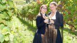 Wetterglück beim 5. Leimener Weinbergfest: Von der Sonne verwöhnte Herbstidylle