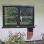 Leimen: Wohnungseinbruch – Loch in Hauswand geschlagen