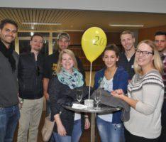 Gelungenes Ehemaligentreffen des Friedrich-Ebert-Gymnasiums am Kerwesamstag