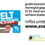 Werde Weltverbesserer! Spendenaufruf an alle Fußball-Fans