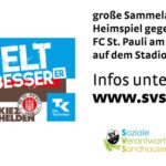 SV Sandhausen: Montag gegen St. Pauli – Studententag und Weltverbesserer-Aktion