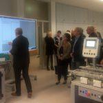 Lernfabrik 4.0 in den beruflichen Schulen – Informationsfahrt der Kreistagsmitglieder