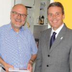 Stadtrat Dietrich Unverfehrt feierte 60. Geburtstag.