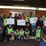 1. Ahmadiyya Charity Walk erbringt </br>1.500 € Spenden für Leimener Kindergärten