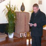 Stilles Gedenken der Stadt zum Jahrestag der Deportation nach Gurs
