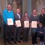 Oberbürgermeister Hans Reinwald ehrte Leimens Blutspender