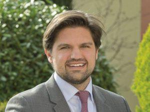 Tim Schreiber, Direktor im Leimener Hotel Villa Toskana